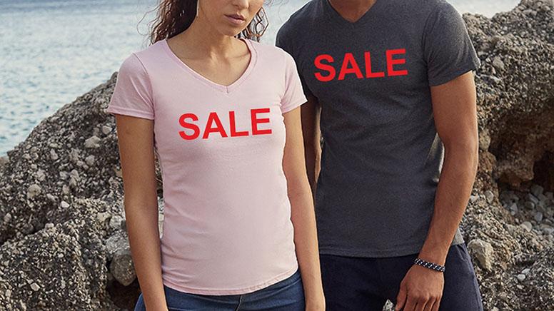 T-shirt Sale Header
