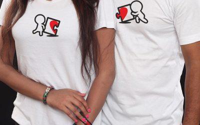Love Puzzle Couple T-shirt