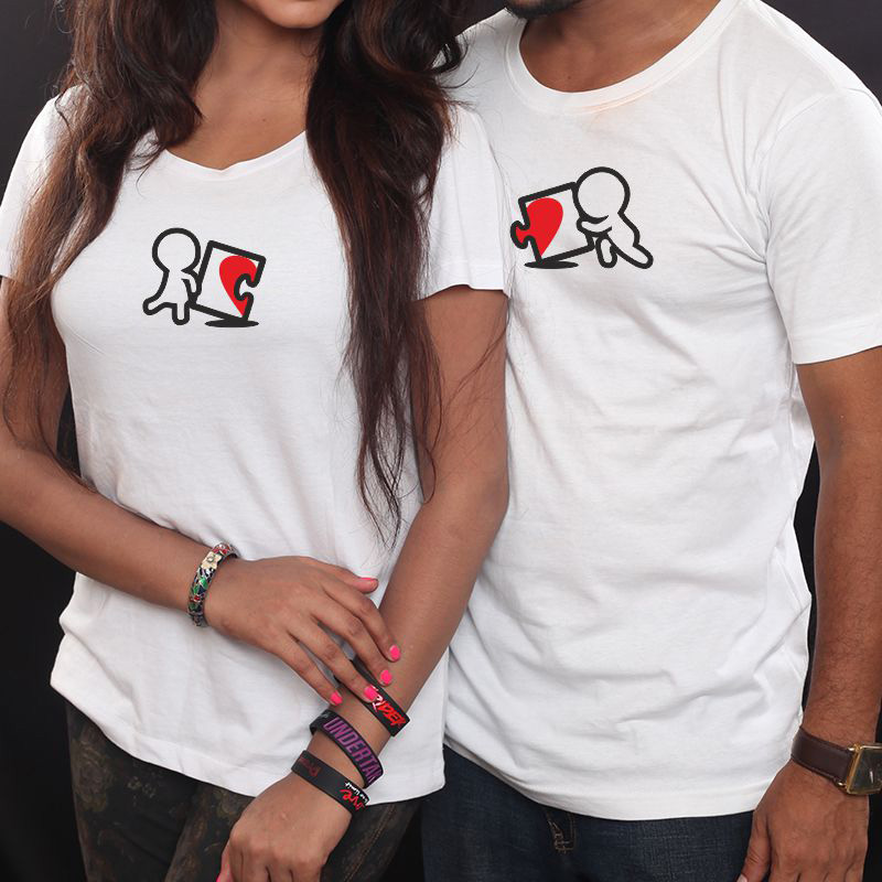 Love Puzzle Couple T-shirt