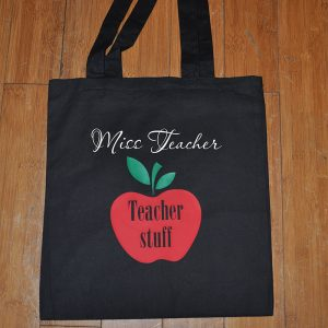Teacher Stuff Cotton Bag