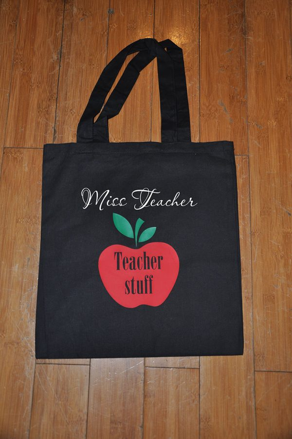Teacher Stuff Cotton Bag