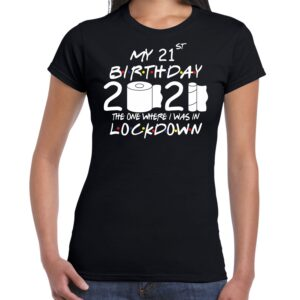 My Lockdown Birthday 2021 toilet paper